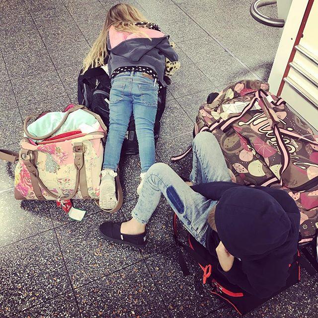 jet lagged children