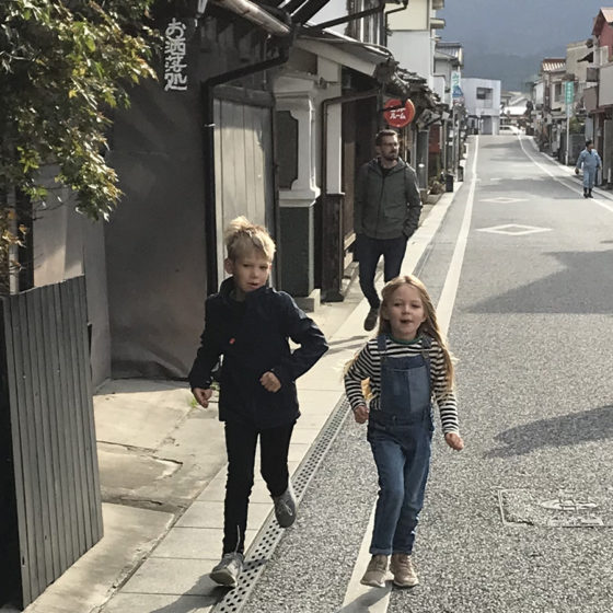 Rural japan road trip with kids